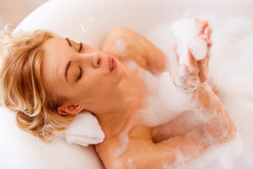 Как похудеть, принимая ванну