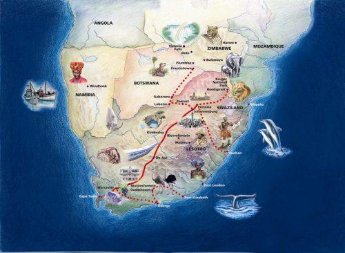 Африка. Поездом до Кейптауна_foto