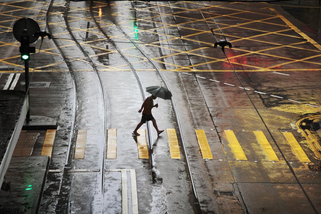 Гонконг под дождем_foto