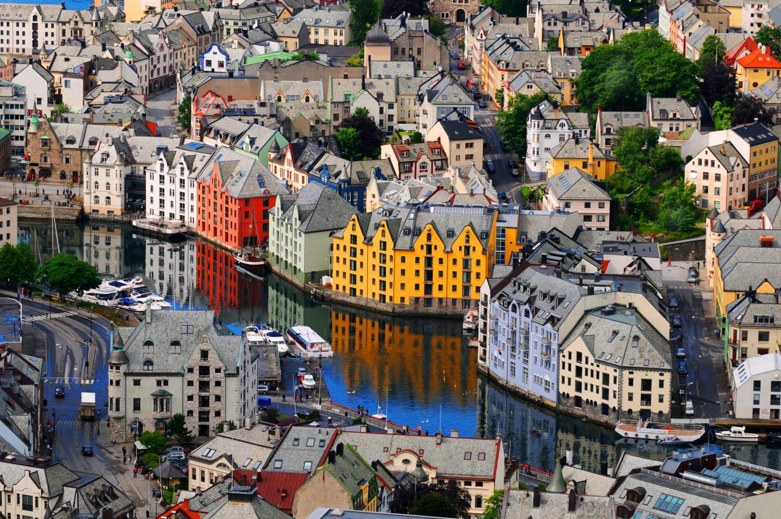 Норвегия. Северное ар-нуво_foto