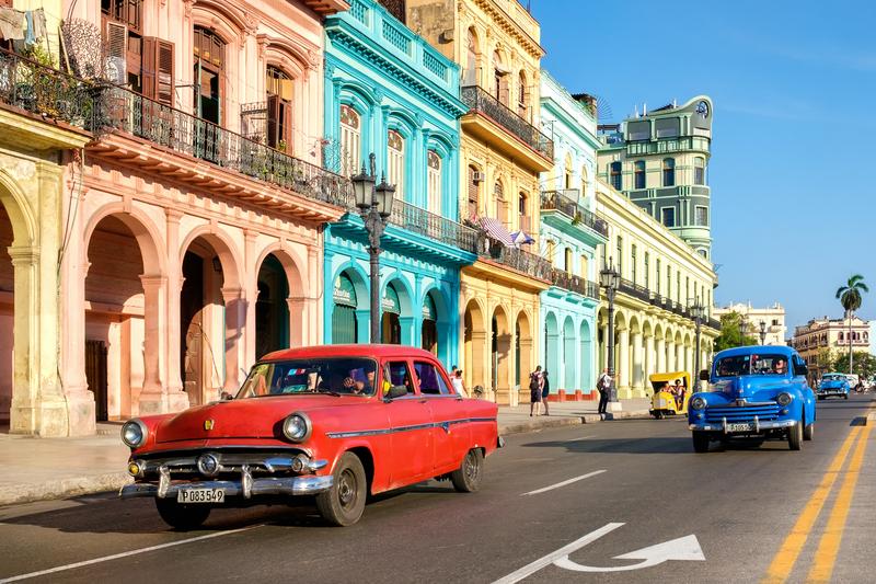 Куба. Антиквариат на колесах