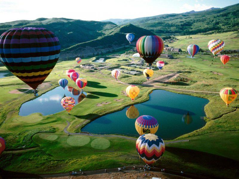 На большом воздушном шаре_foto