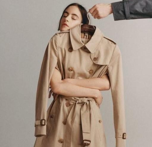 Тренч на модном фронте