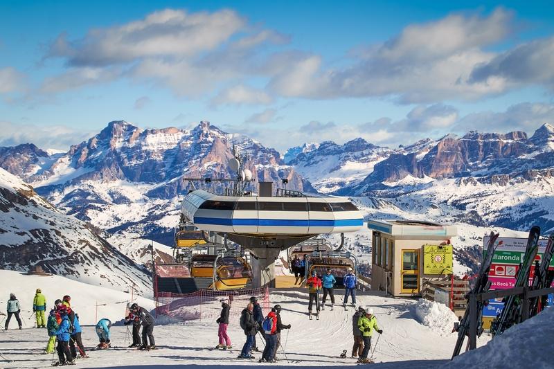 На лыжи? В Доломитовые Альпы!