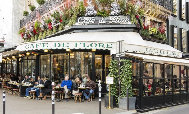 Париж, кофе, круассан, история