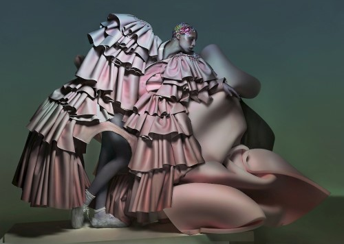 Модный футуризм Ника Найта