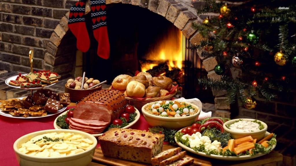 Рождественский стол в литературе