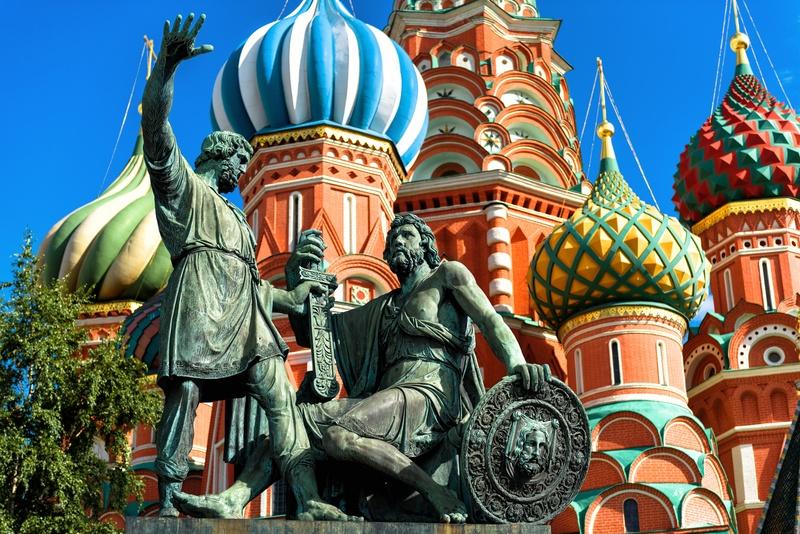 Храм Василия Блаженного. Замок из конфет