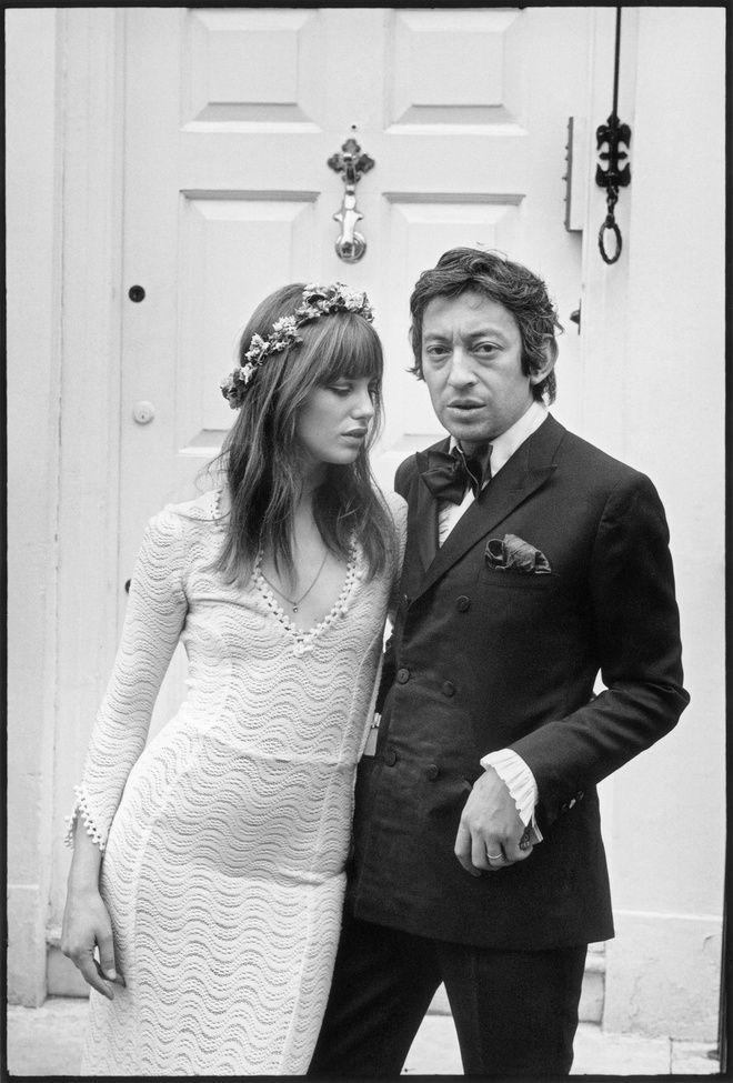 История любви: Серж Генсбур и Джейн Биркин_foto