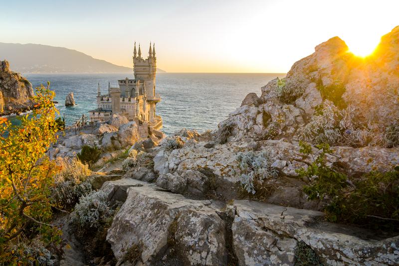 «Ласточкино гнездо»: между морем и небом_foto