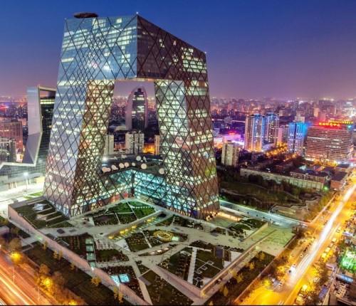Что сообщают здания в Китае