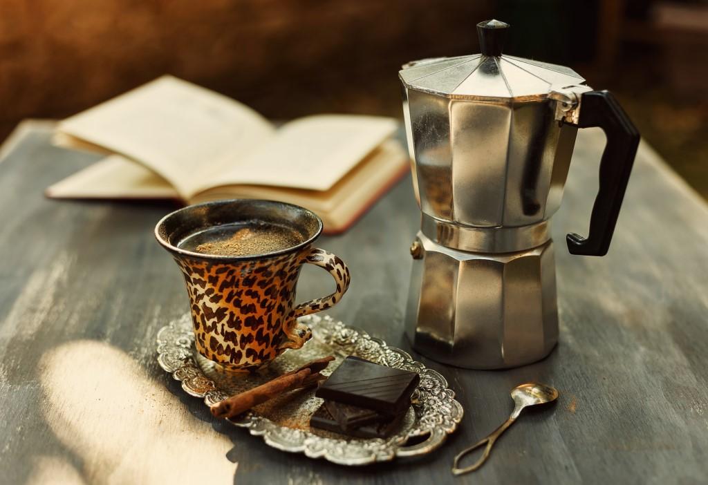Moka Express. Союз кофеина и алюминия