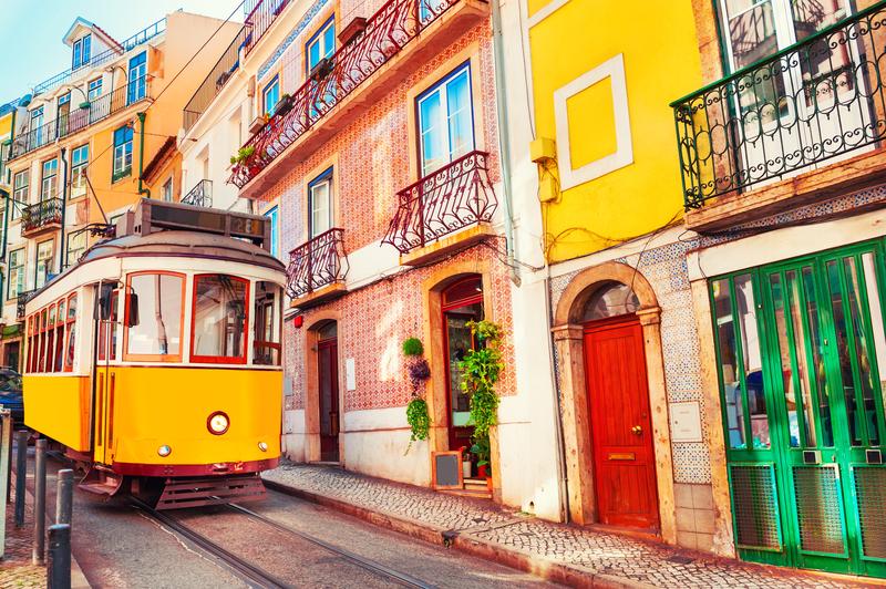 Лиссабон. Желтые каравеллы
