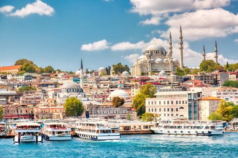 Вплавь по Стамбулу