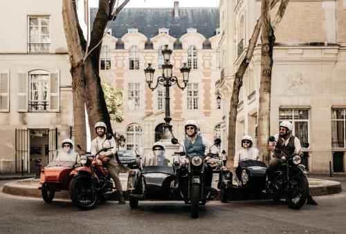 По Парижу на «Уралах»