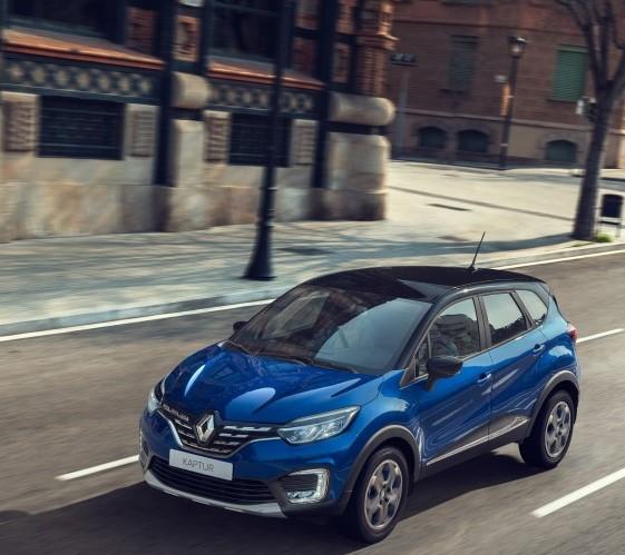 Обновленный Renault Kaptur: городской стиляга