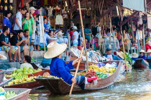 Таиланд. Торг на плаву_foto