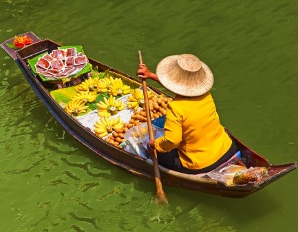 Таиланд. Торг на плаву