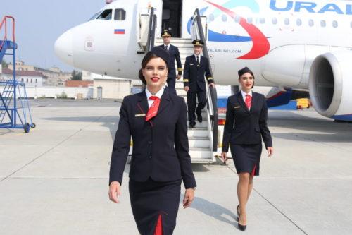 В августе «Уральские авиалинии» перевезли более 1,2 млн пассажиров